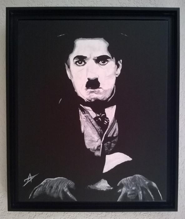 Charlie Chaplin by LUDO